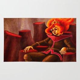 Flame Princess Rug
