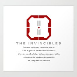 The Invincibles Art Print