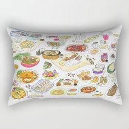 Food (2)  Rectangular Pillow