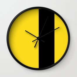 backpack — yellow with black Wall Clock