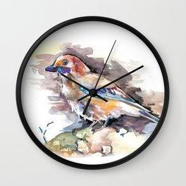 Lovely Birds №1 Wall Clock