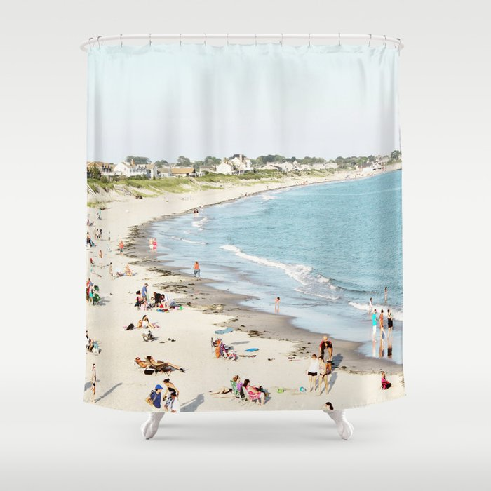 Galilee from Above Shower Curtain