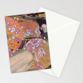 WATER SNAKES - GUSTAV KLIMT Stationery Cards
