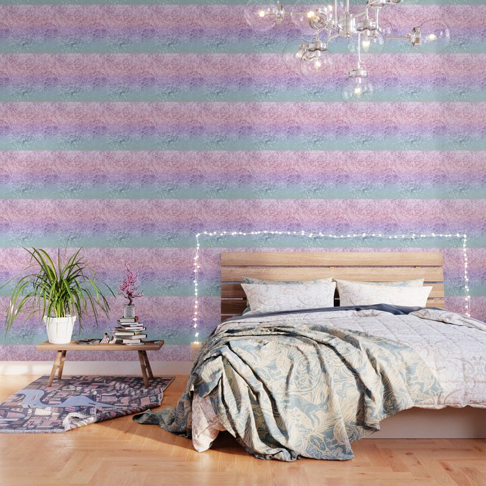 Unicorn Girls Glitter #1 #shiny #pastel #decor #art #society6 Wallpaper