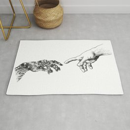 The Creation of Outer Space Rug