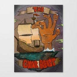 The Gnar Beast Canvas Print