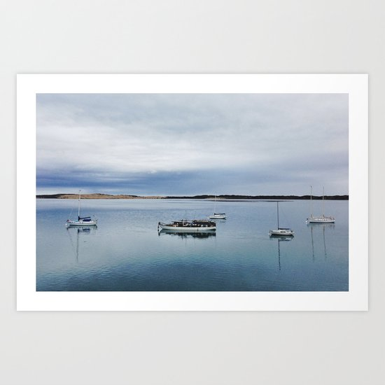Morning Calm Art Print