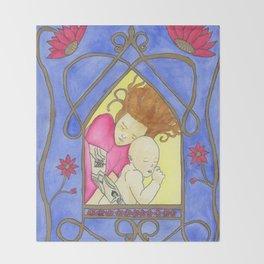 Icons of American Motherhood 2 Throw Blanket