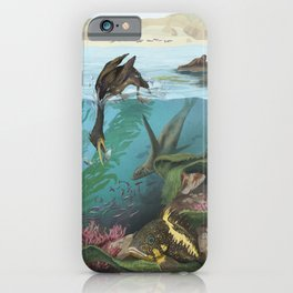 Over-Under Kelp Forests iPhone Case