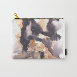 Soft Texture Watercolor | [Grief] Lies Carry-All Pouch