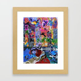 Bloody Mary of Miami Framed Art Print