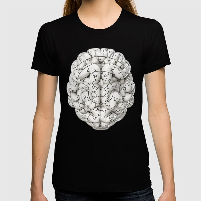 Puzzle brain GINGER / Your brain on puzzles T-shirt