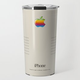 iPhone Macintosh retro design Travel Mug