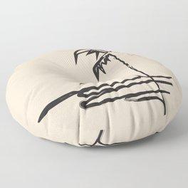 Abstract Landscpe Floor Pillow