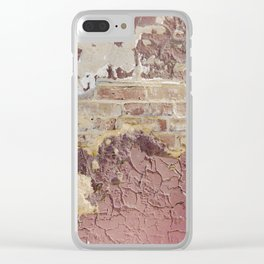 Brick Reveal Detail Clear iPhone Case
