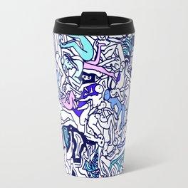 Kamasutra LOVE - Ultraviolet Purple Blue Travel Mug