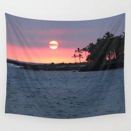 Kona Sunset Wall Tapestry