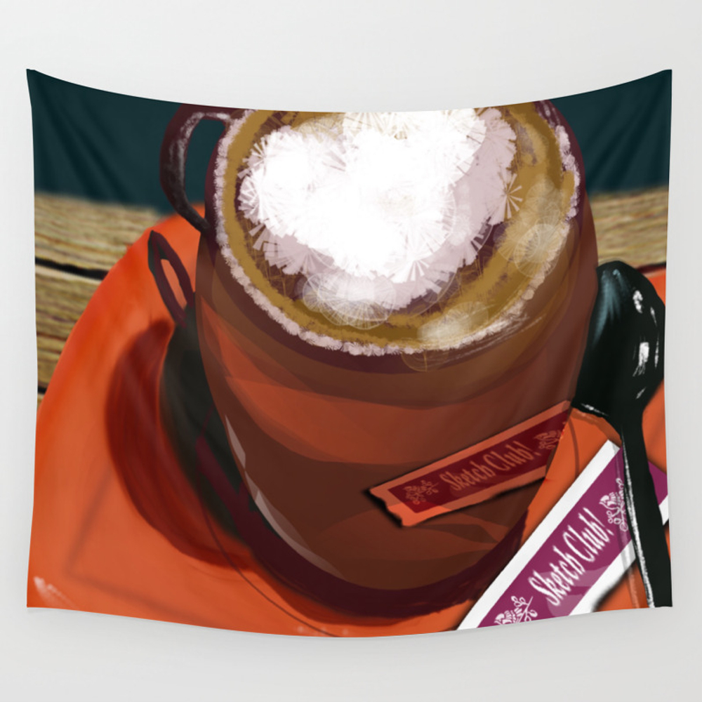 A Cup Of Joe Wall Tapestry by Cowgirlmall TPS7190964