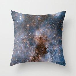 NASA Hubble Image of Space Throw Pillow