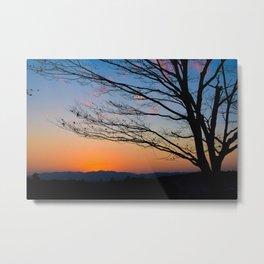 kyoto at dusk Metal Print