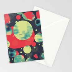 Planets 01' Stationery Cards