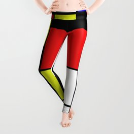 Mondrian #21 Leggings