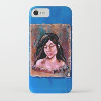 surrealism iPhone & iPod Cases featuring Surrealism by Crystal Lea Art