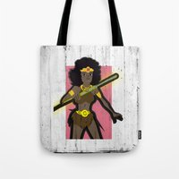 dungeons and dragons Tote Bags featuring DUNGEONS & DRAGONS - DIANA by Zorio