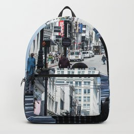 San Francisco street lines Backpack