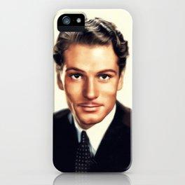 Sir Laurence Olivier, Vintage Actor iPhone Case