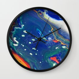 dirty pour i Wall Clock