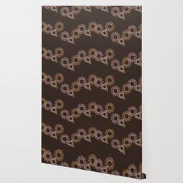 Brown Circle of Life Wallpaper