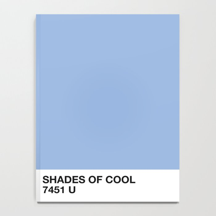 shades of cool Notebook