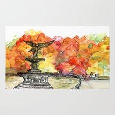 Central Park: Bethesda Fountain Rug