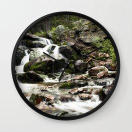 Beautiful Tributary Landscape Wall Clock