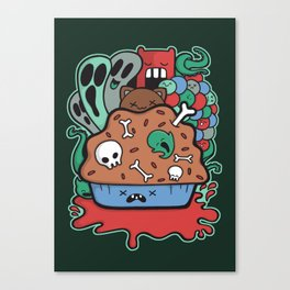 Muffin of Death Canvas Print