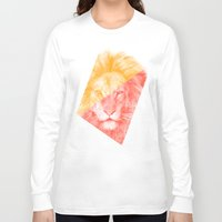 eric fan Long Sleeve T-shirts featuring Wild 3 - by Eric Fan and Garima Dhawan by Eric Fan