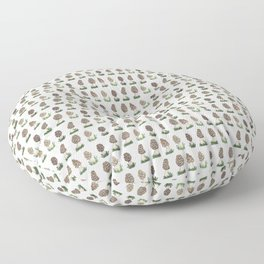 Morel mushrooms Floor Pillow