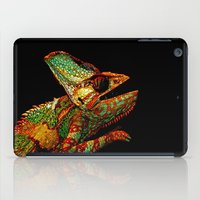 patrick iPad Cases featuring KARMA CHAMELEON by Catspaws