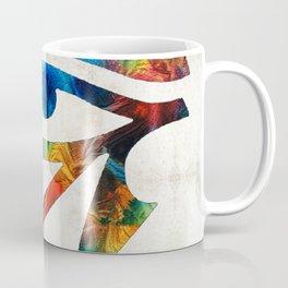 Eye of Horus - Art By Sharon Cummings Coffee Mug