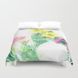 Cactuses Duvet Cover