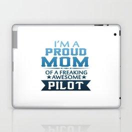 I'M A PROUD PILOT'S MOM Laptop & iPad Skin