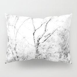Black and white tree photography - Watercolor series #1 Pillow Sham