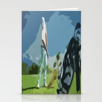 golf Stationery Cards featuring GOLF by aztosaha