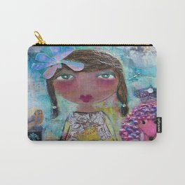 Phoebe & Poof - Whimsies of Light Children Series Carry-All Pouch