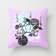 Let's get Kraken Throw Pillow