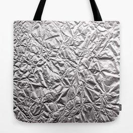 Silver Paper Tote Bag