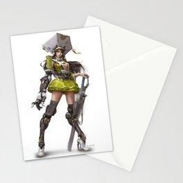 Onna-Bugeisha Stationery Cards
