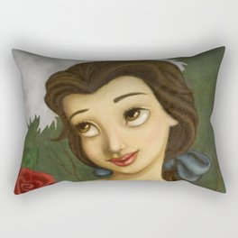 Belle rose Rectangular Pillow