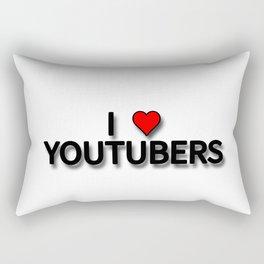 I LOVE YOUTUBER Rectangular Pillow